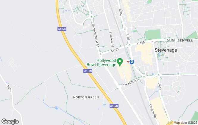 Map for Vincent Giddings, Stevenage -Sales & Lettings