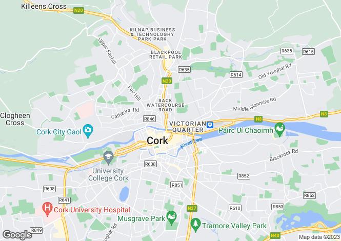 Map for 3 Richmond Hill, Cork