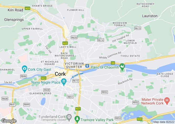 Map for Harbour View, St. Lukes, Cork City, Co Cork