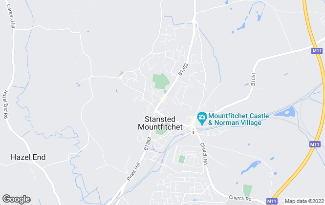 Map for Intercounty, Stansted