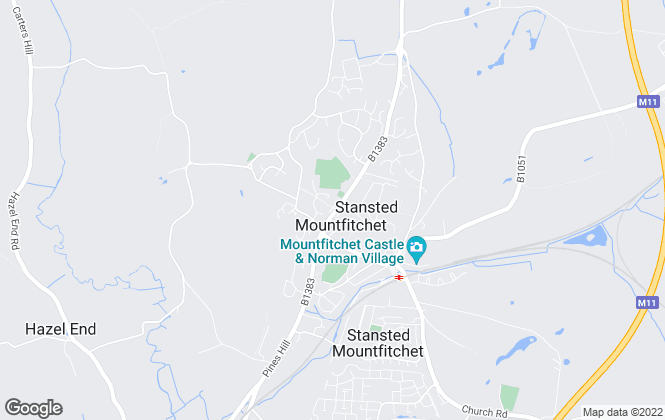 Map for David Lee Estates, Stansted Mountfitchet Sales