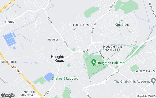 Map for Roger Marsh, Houghton Regis