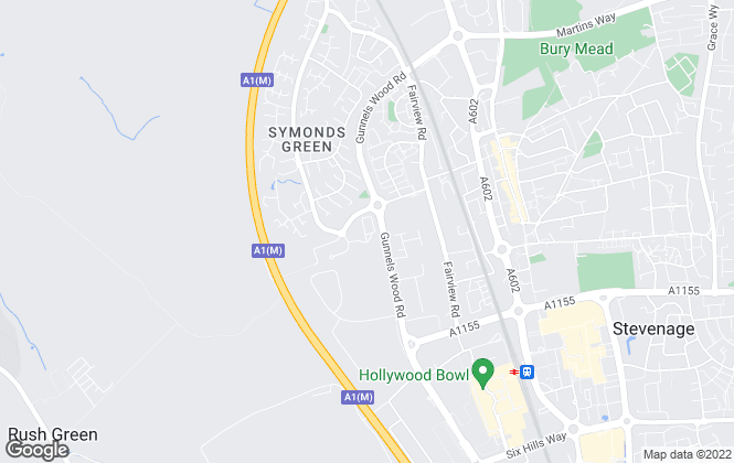 Map for Brown & Lee Chartered Surveyors, Hertfordshire