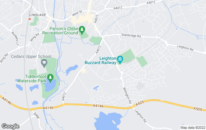 Map for Berridge Estate Agents & Property Management, Leighton Buzzard