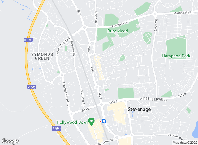 Map for Homes & Mortgages Estate Agents Ltd, Stevenage Old Town Lettings