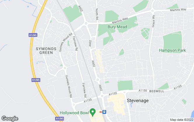 Map for A-Top Managment Services, Stevenage