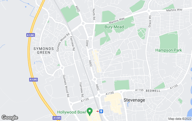 Map for Putterills, Stevenage