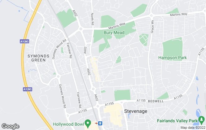 Map for Letters Property Management, Stevenage