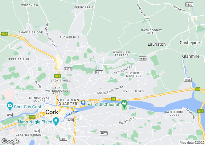 Map for 8 Cahergal Avenue, Ballyhooley Road, Cork, T23 X4F8