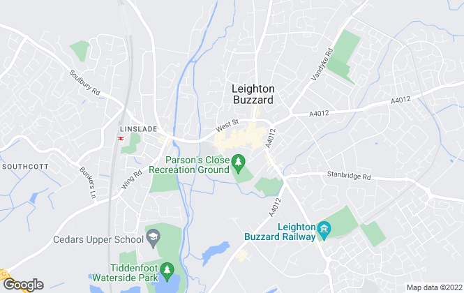 Map for Squares Estate Agents, Leighton Buzzard