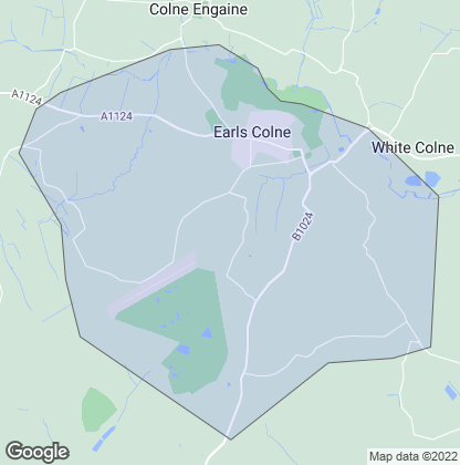 Map of property in Earls Colne
