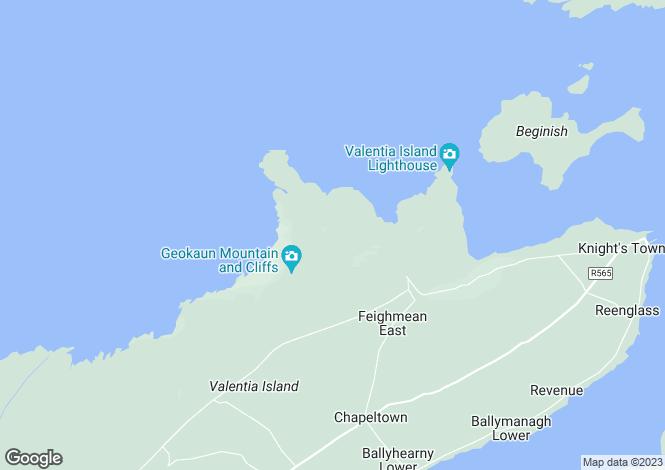 Map for Valentia Slate Ltd, Dohilla, Valentia, Co.Kerry