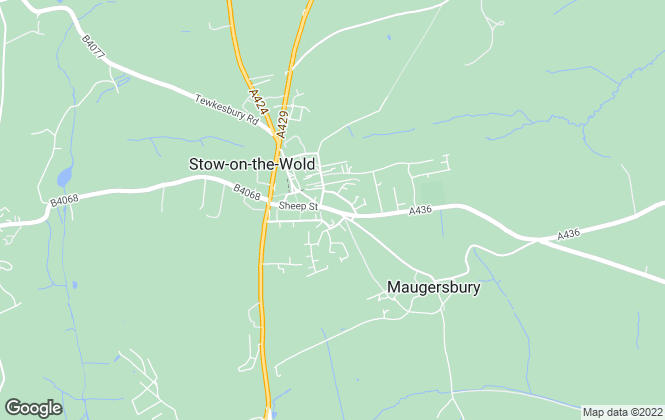 Map for Butler Sherborn, Stow-On-The-Wold