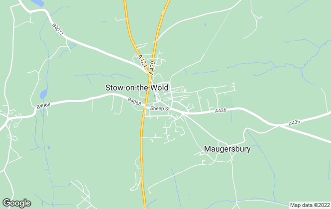 Map for Tayler & Fletcher, Stow-On-The-Wold