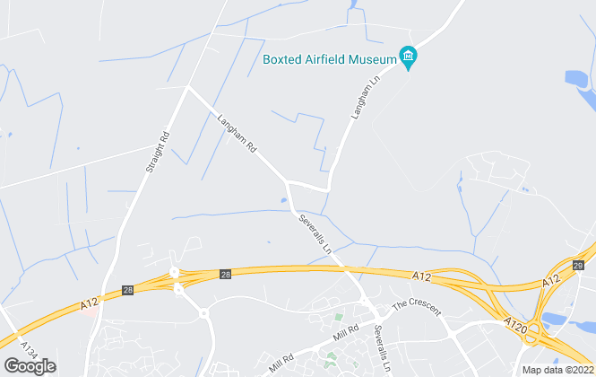 Map for Bloomfield Grey, Colchester
