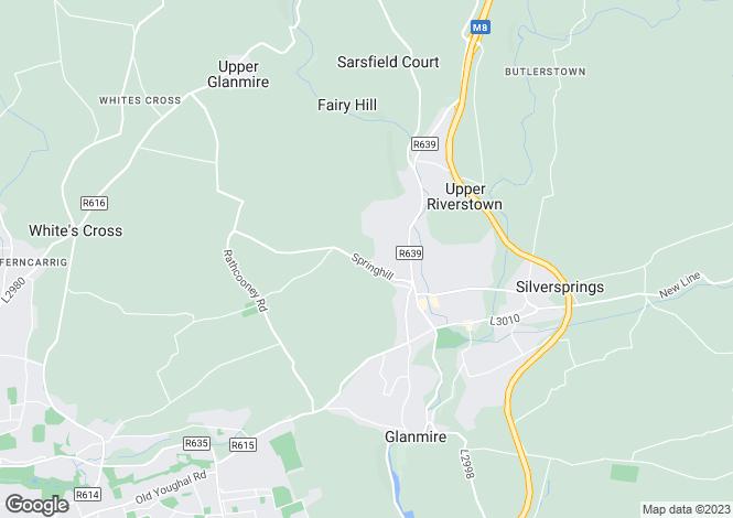 Map for Site B, Knocknahorgan, Glanmire, Co Cork