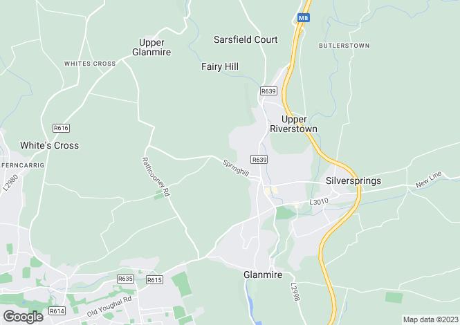 Map for Site A, Knocknahorgan, Glanmire, Co Cork