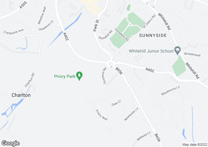 Map for Gosmore Road, Hitchin, Hertfordshire SG4 9AN