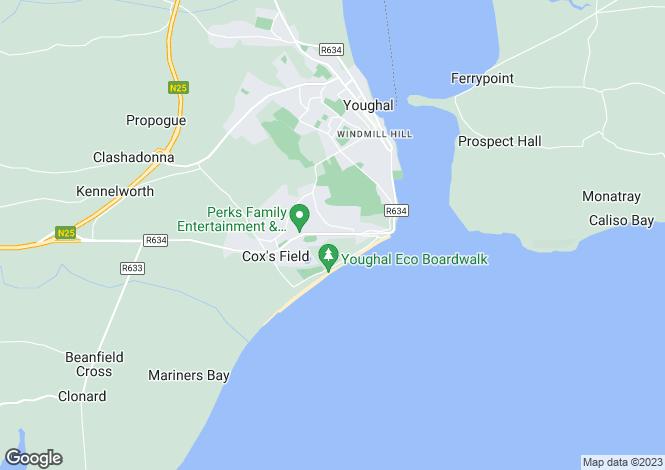 Map for Tara, Bawnmore, Kanturk, Cork