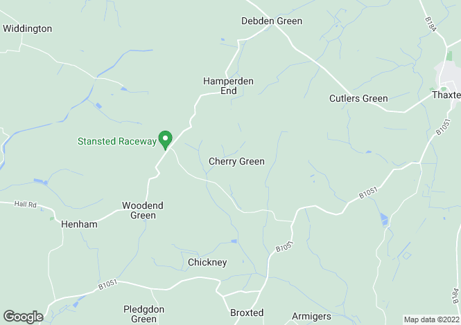 Map for Cherry Green Farmhouse, Cherry Green, Broxted, Nr Henham