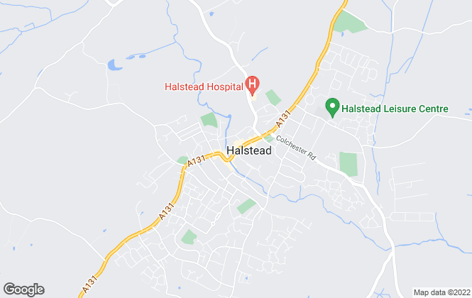 Map for Bairstow Eves, Halstead