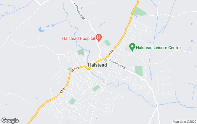 Map for Scott Maddison, Halstead
