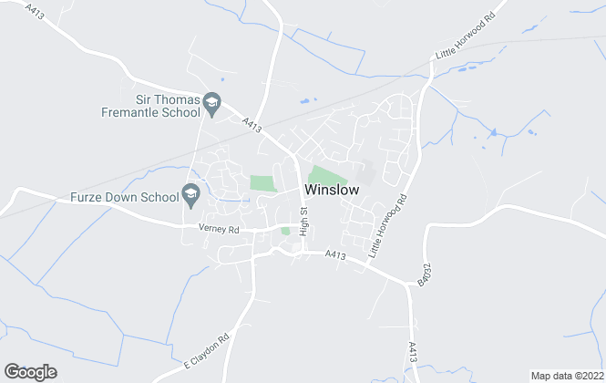 Map for Ella Homes, Winslow - Lettings