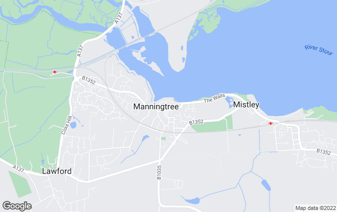 Map for Essex Country & Village Homes, Manningtree