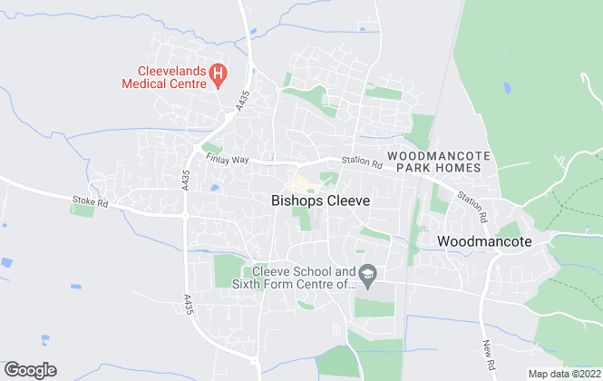 Map for Andrews Estate Agents, Bishops Cleeve
