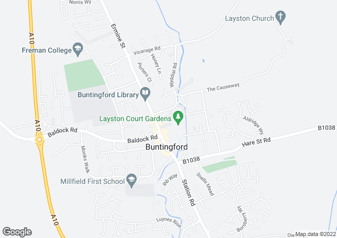 Map for Ermine Court, Church Street,