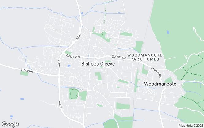 Map for Cleeve Residential Lettings, Cheltenham