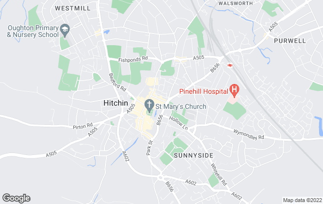 Map for Your Move , Hitchin