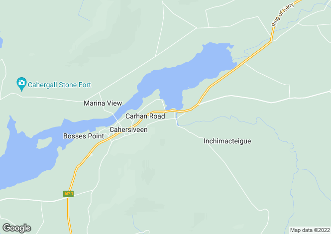 Map for Kerry, Cahirciveen