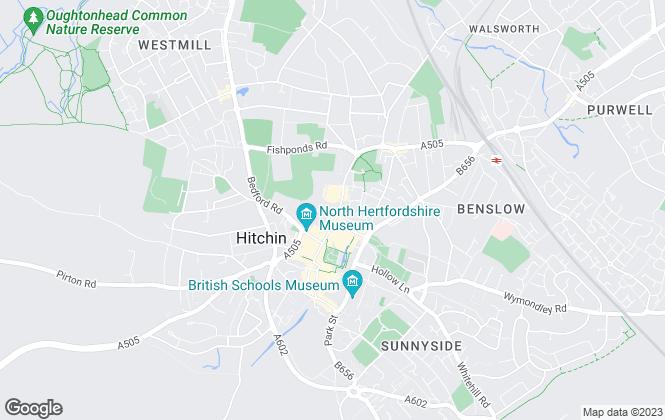 Map for Liberty Estates (UK) Ltd, Hitchin - Lettings