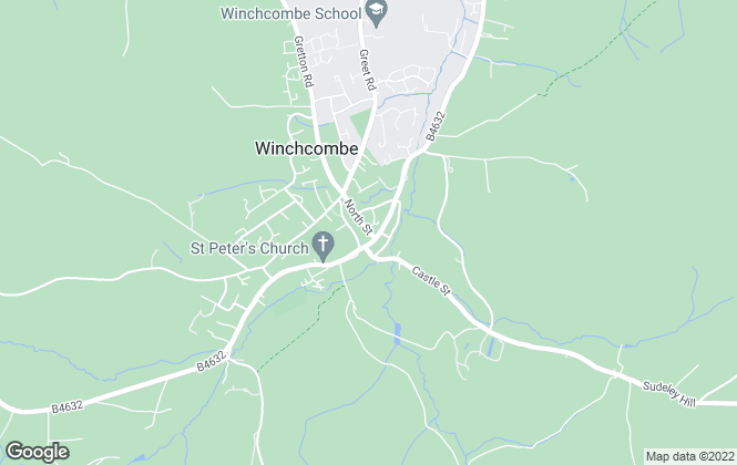 Map for R A Bennett & Partners , Winchcombe