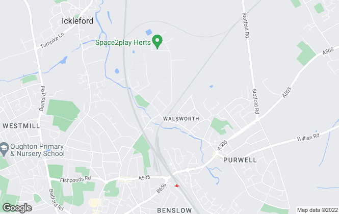 Map for FIRST CHOICE ESTATE AGENTS, Hitchin