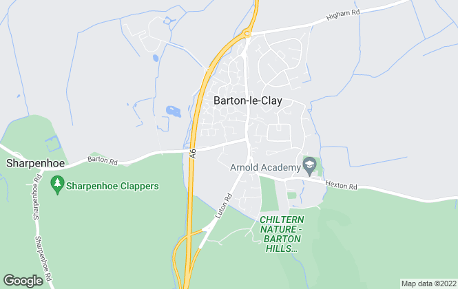 Map for Urban & Rural Property Services, Barton-Le-Clay