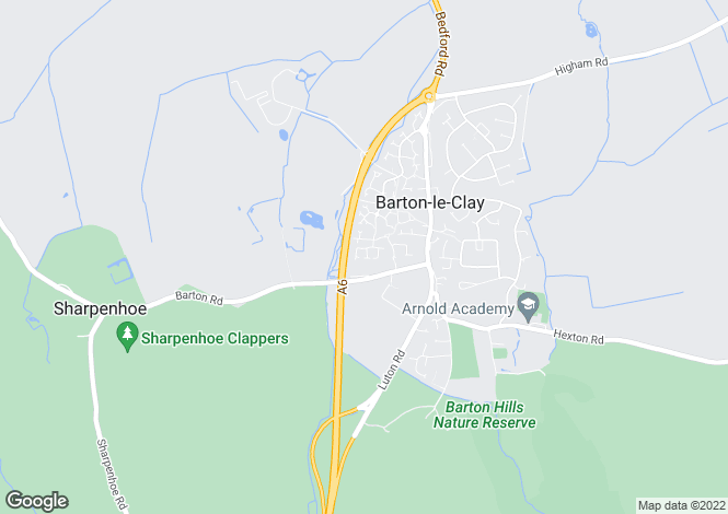 Map for Longcroft Drive, BARTON LE CLAY, Bedfordshire
