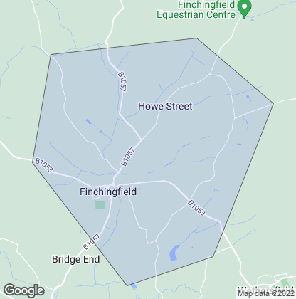 Map of property in Finchingfield