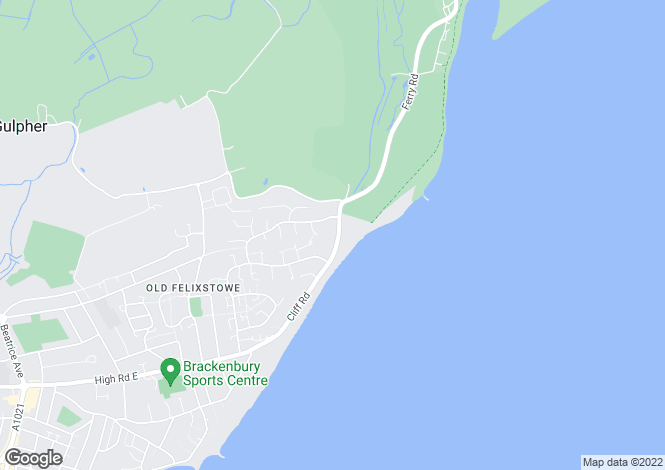 Map for Cliff Road,