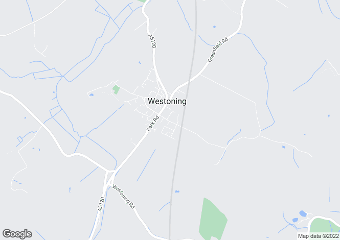 Map for Westoning