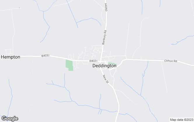 Map for Cherry Lets, Deddington