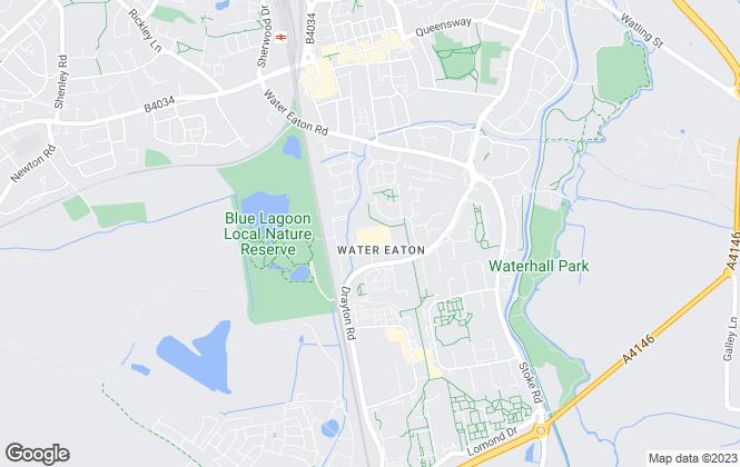 Map for Bucks Biz Business Centre, Milton Keynes