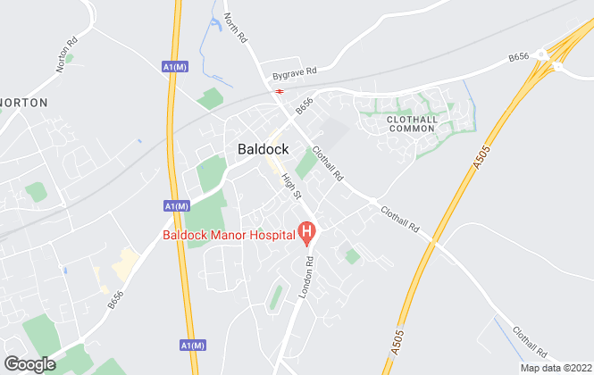 Map for Country Properties, Baldock (Sales and Lettings)