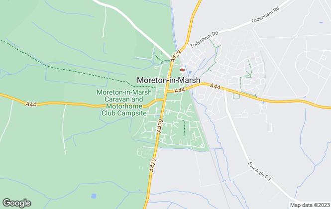 Map for Strutt & Parker, Moreton-In-Marsh