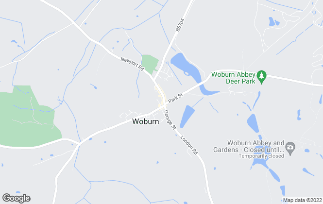 Map for Jackson-Stops, Woburn