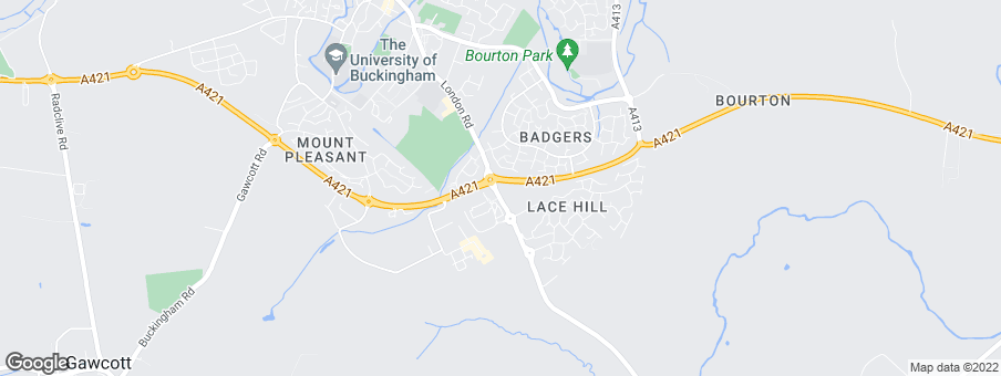 Map for Bovis Homes Northern Home Counties