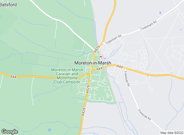 Map for Holmans Estate Agents, Moreton-In-Marsh