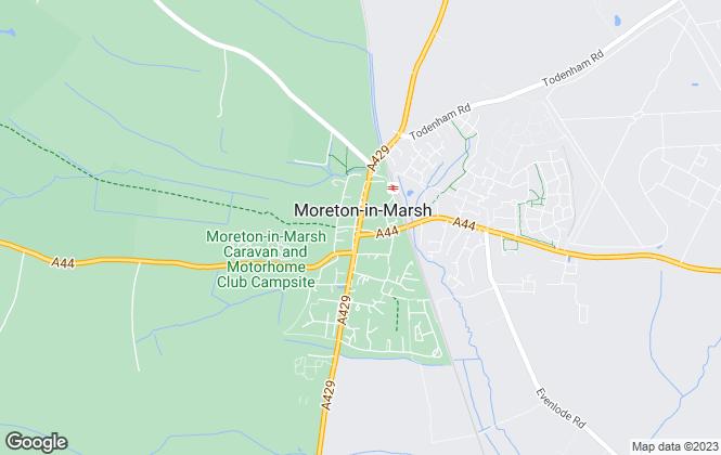 Map for Holmans Estate Agents, Moreton-In-Marsh