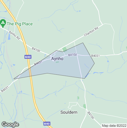 Map of property in Aynho